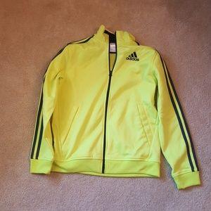 Adidas boys zip up size 10/12